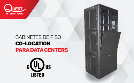 Gabinetes de Piso para Data Centers | CO-LOCATION